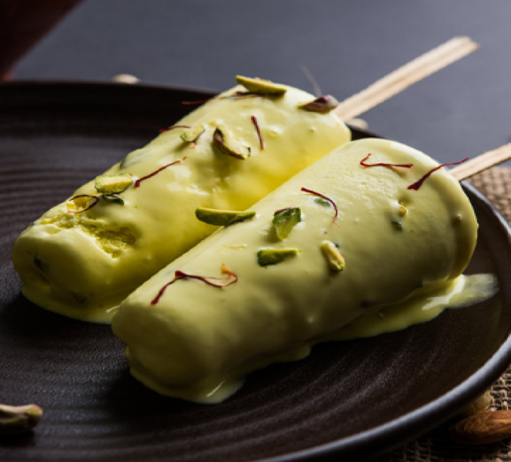 Mango/pistachio kulfi - AROMAd46k